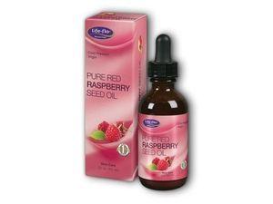 LIFE-FLO Pure Red Raspberry  Seed Oil - óleo de semente de framboesa vermelha é rico em vitamina E, serve p/ hidratar a pele e ajudar a melhorar a aparência de linhas finas e rugas. Também pode ser utilizado para hidratar o cabelo e couro cabeludo. Contém um dos mais elevados teor de antioxidantes e fitoesteróis entre todos os óleos vegetais/frutas. Idela para região dos olhos, colo e pescoço. Vende online, farmácias e lojas de vitaminas dos EUA. Preço Médio: US$ 17. #cosmeticdetox