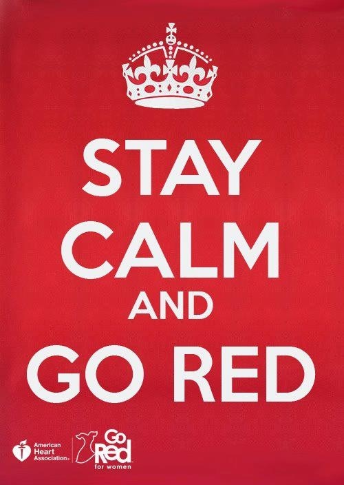 Hey! Did this over used phrase catch your attention? Good! Go Red For Women next month!