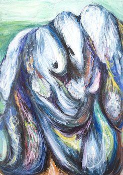 Kazuya Akimoto - Jacob wrestling with the angel 2