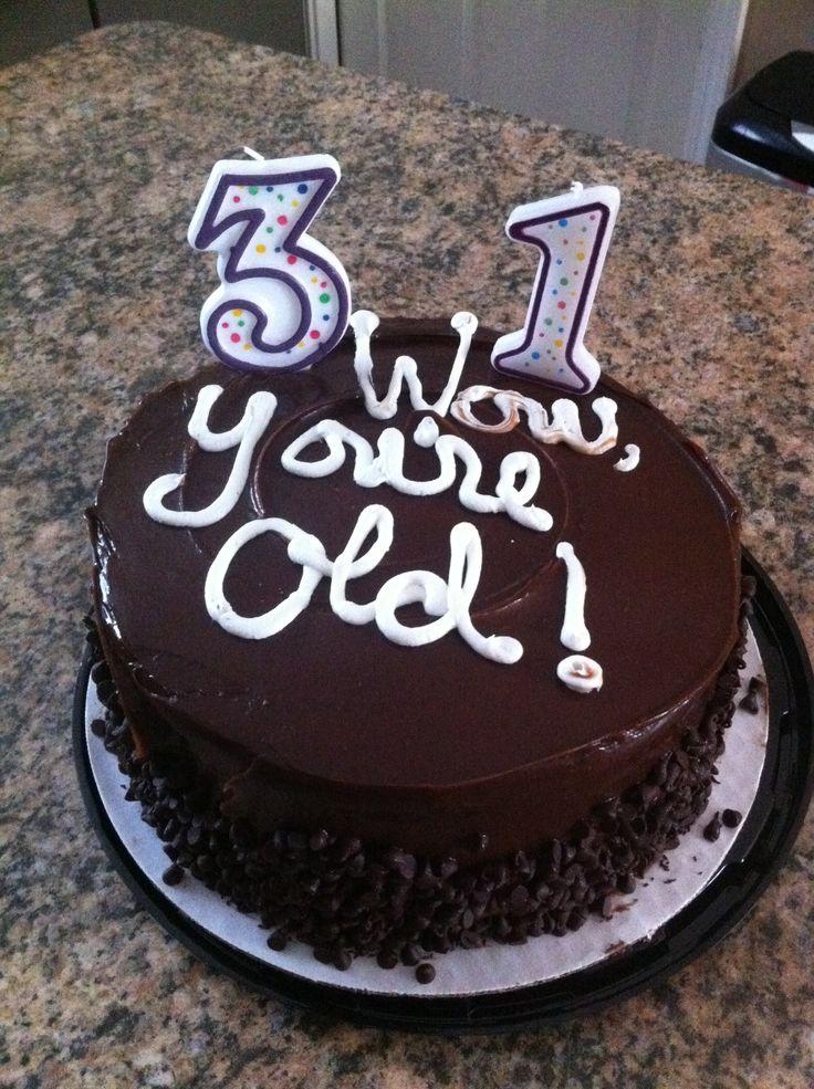 31st Birthday Cake Birthday Fun Pinterest Cakes