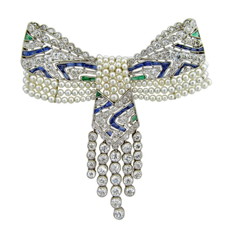 Exquisite Edwardian Bow Pendant Brooch