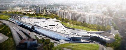 Presentado el proyecto de la estación de alta velocidad Vialia de Vigo (Enllave 23/02/2011)