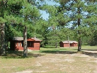 Jack Pine Lodge, Cabins and Campground, Hiawatha Forest, Upper Peninsula Michigan