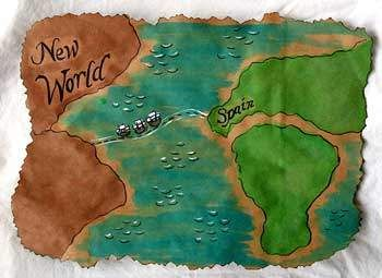 Map to the New World - Columbus Day is Monday! Check out all of our activities at www.HowToHomeshcoolMyChild.com