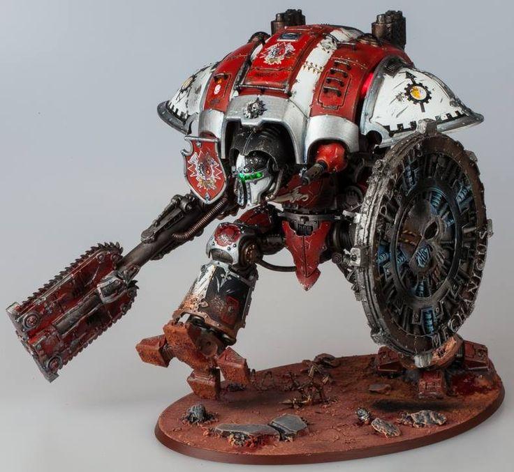 Warhammer 40k | Imperial Knights | Imperial Knight #warhammer #40k #40000…