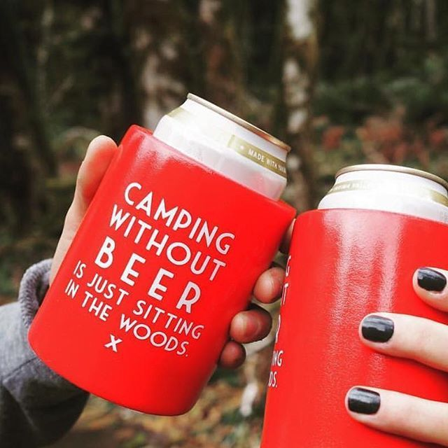 This set of 2 beer koozies are virtually indestructible and will quickly become an indispensable part of your beer drinking gear collection. Beer gift idea.