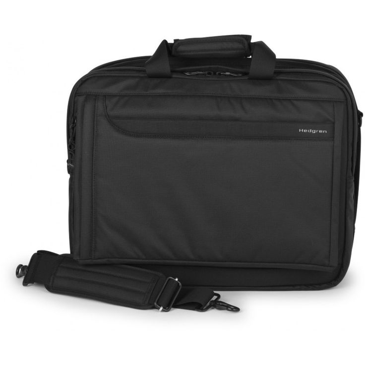 "Hedgren Utopia Idolize L 17"" Business Bag - Black"