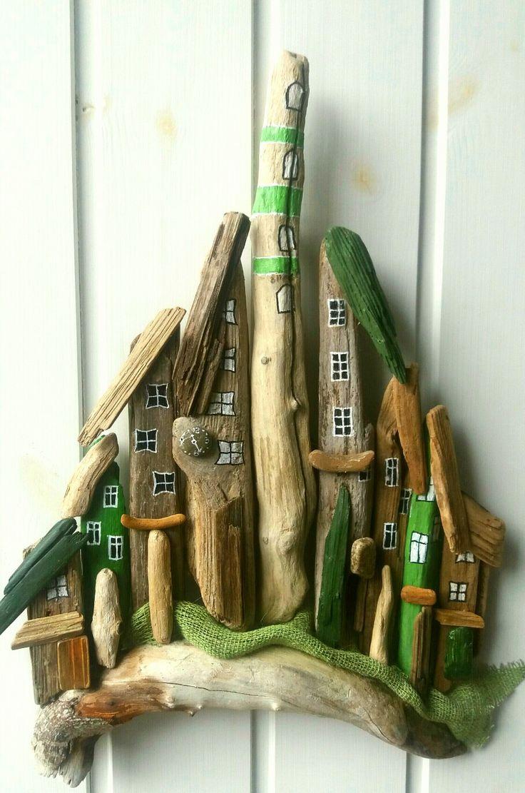 Lille Oliven grøn drivtømmer by. designed by EVAs