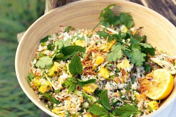 Mango rice salad main image