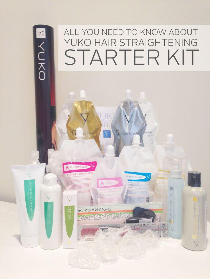 YUKO HAIR STRAIGHTENING STARTER KIT | YUKO PRO