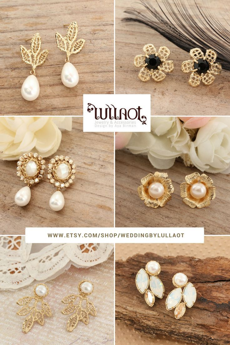 Timeless wedding jewelry and accessories collection.  www.etsy.com/shop/WeddingByLullaot