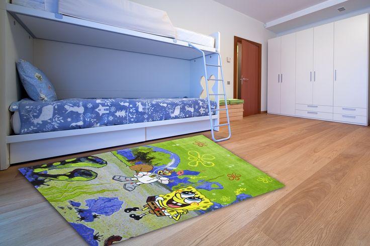 Μπομπ Σφουγγαράκης - SpongeBob. Μπλε - πράσινο. ΠΡΟΣΦΟΡΑ