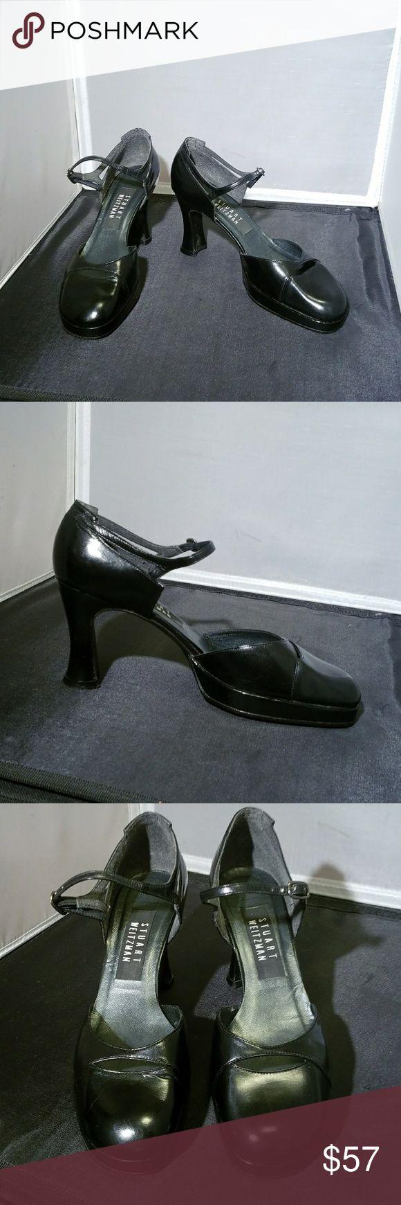 STUART WEITZMAN Black Mary Jane's Soooo entzückend !! Ich wünschte, diese passen mir !! R …   – My Posh Picks