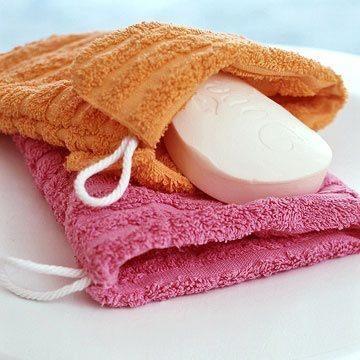 aproveitando toalhas velhas