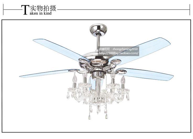 Aliexpress.com : Buy Mediterranean Ceiling Fan Light Lamp 52 inch fashion European style luxury crystal chandelier fan SG626 from Reliable fan suppliers on Digital Zone. | Alibaba Group