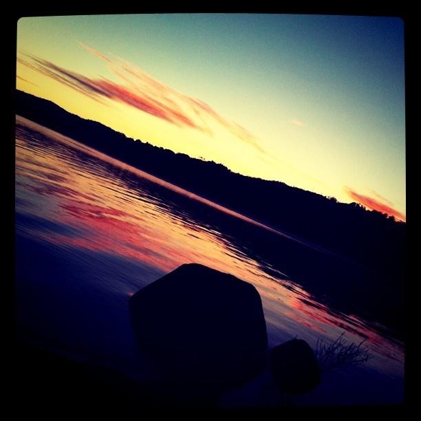Good morning at Lake Jindabyne.