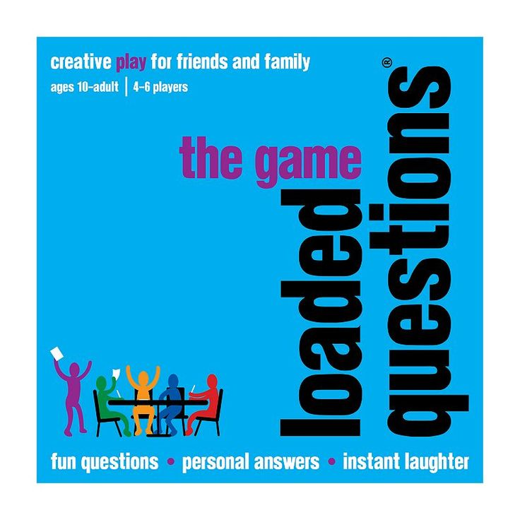 Loaded Questions Game by All Things Equal, Multicolor