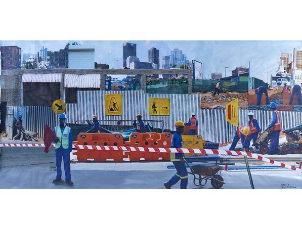 Jabulane Sam Nhlengethwa - Johannesburg Construction Workers,