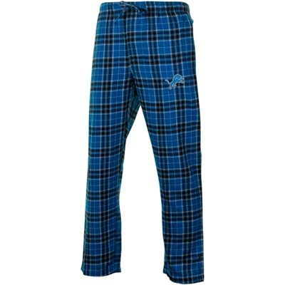 Detroit Lions Roster Flannel Pants - Light Blue