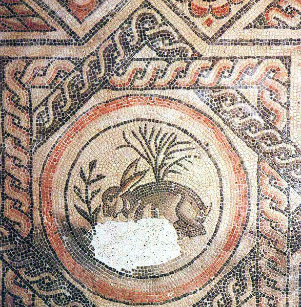 Cirencester was the 2nd largest Roman town in England. The Corinium Museum features many Roman ruins, such as this mosaic floor from a Roman villa. You can still see the shape of the Roman amphitheater on the outskirts of the city.