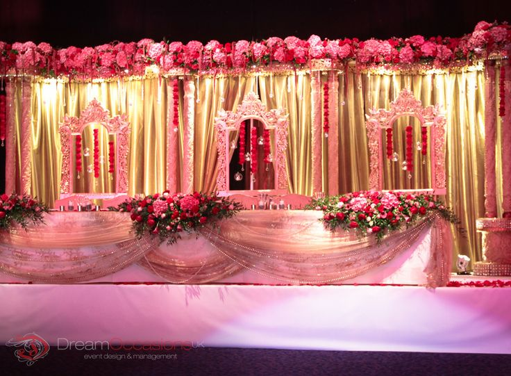 Maharaja Wedding Stage | Dream Occasions Uk