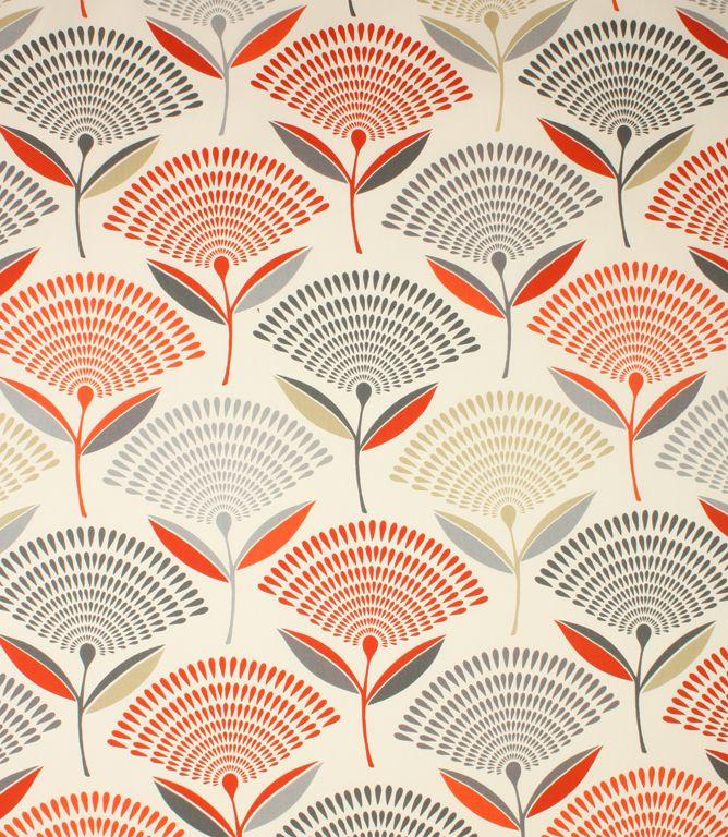 Dandelion Fabric / Amber | Just Fabrics