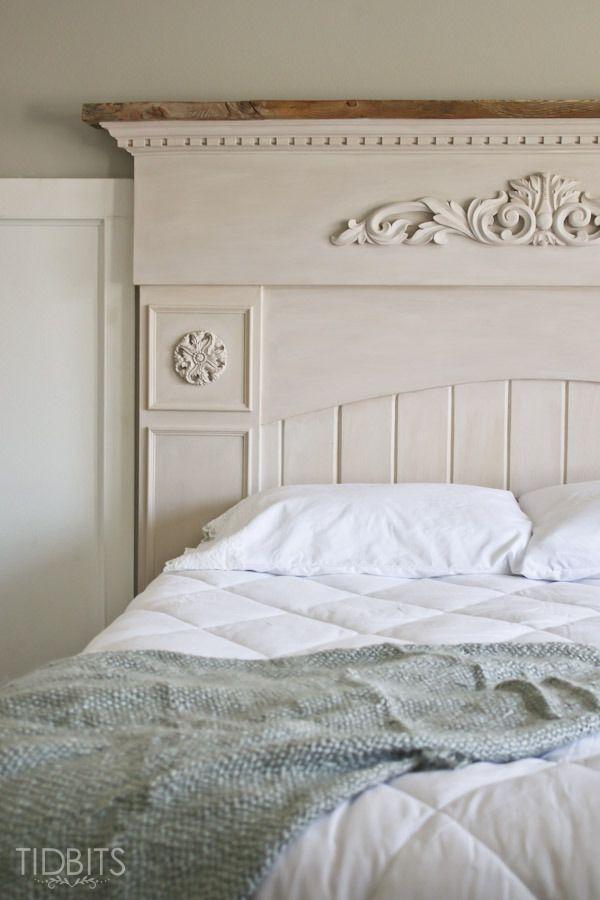 Master Bedroom Progress   The Headboard - Tidbits