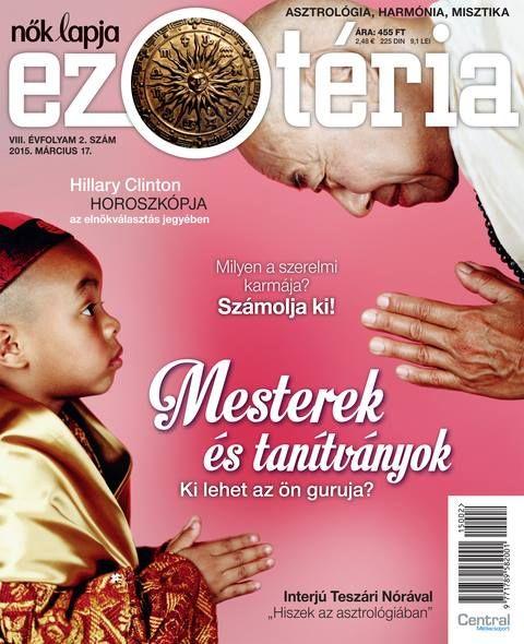 Nők Lapja Ezotéria 2015/2. Benne a séta lelki hatásairól és a kifogás-csapdákról...  További életmódtervező cikkek: eletmodtervezes.hu/mediatar/