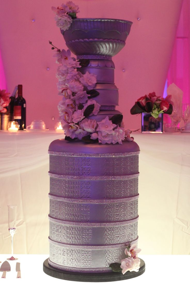15 best Stanley cup wedding cake images on Pinterest | Stanley cup ...