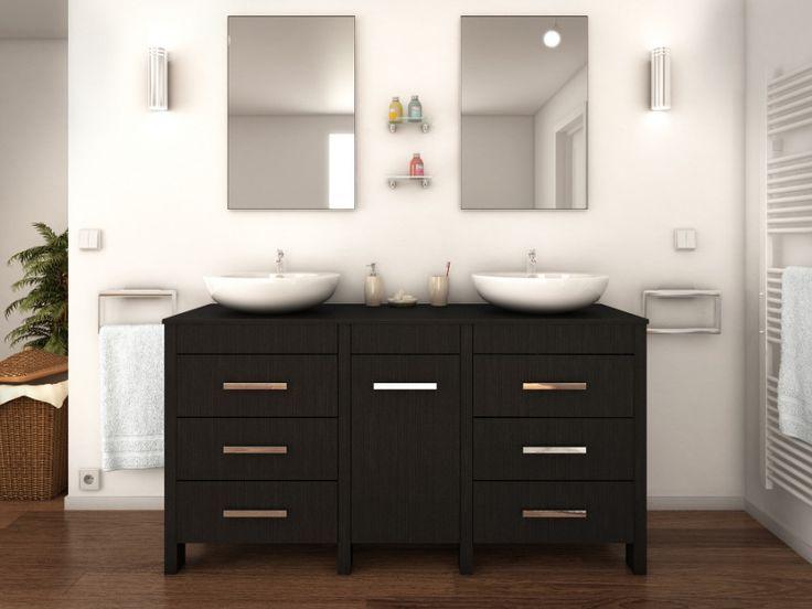 17 best ideas about double vasque on pinterest double for Miroir 120x40