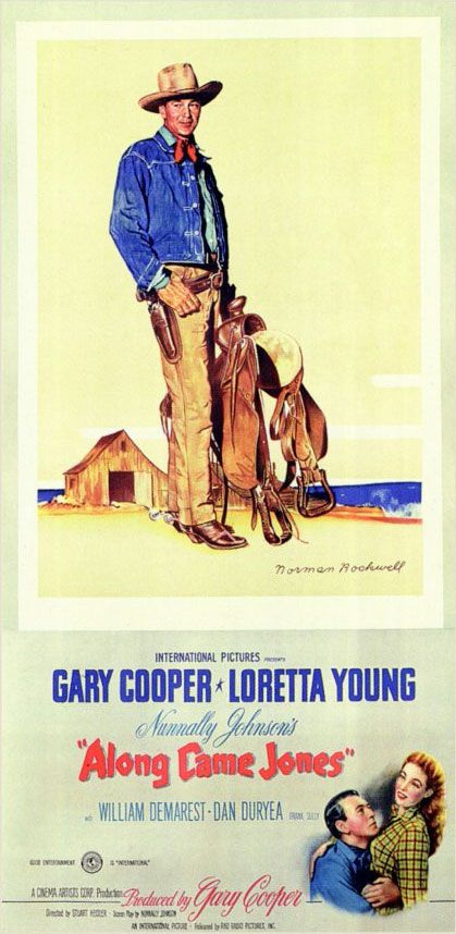 Along Came Jones—Gary Cooper, Loretta Young, Dan Duryea, William Demarest, Arthur Loft, Ray Teal (1945; Dir. Stuart Heisler) Although he was known for westerns earlier in his career, Gary Cooper didn't make many of them during the 1940s when he was at his peak. He had won an Oscar as Best Actor for 1941's Sergeant …