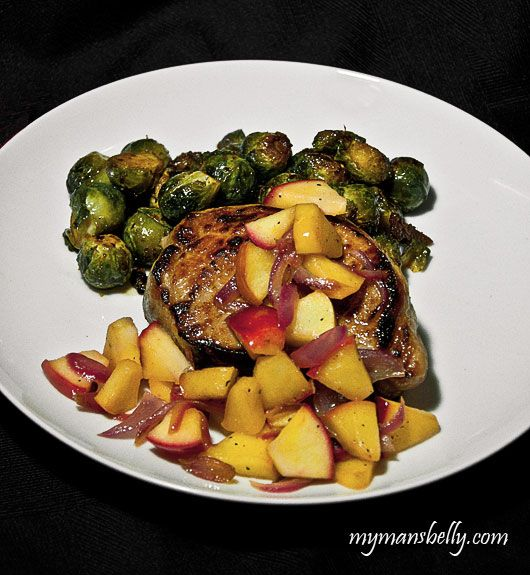 Beer Brined Pork Chops by mymansbelly #Pork_Chops #Healthy