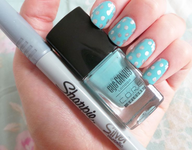 9 best sharpie pen nail images on pinterest accessories easy nail art easy polkadot nails easy polkadot nail tutorial sharpie pens prinsesfo Gallery