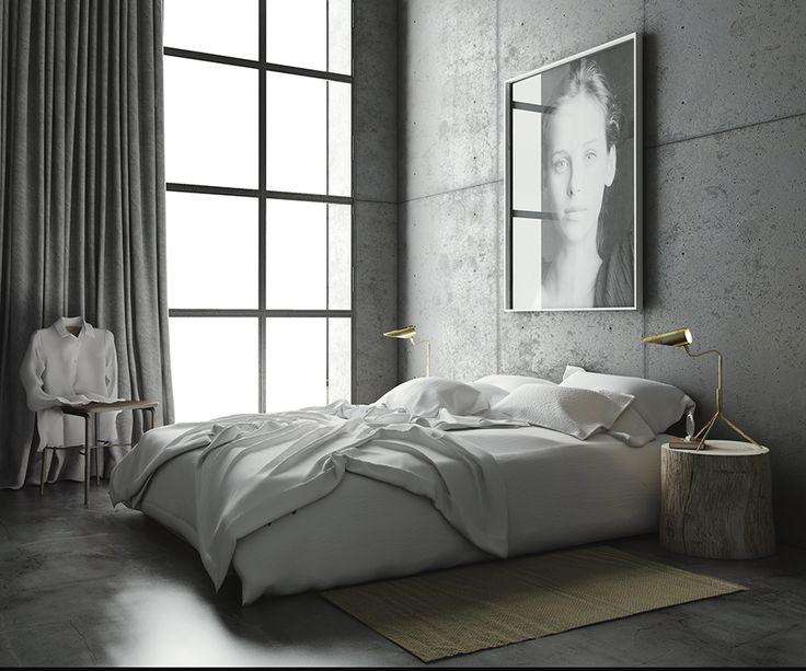 Katty Schiebeck : Concrete loft in Gracia