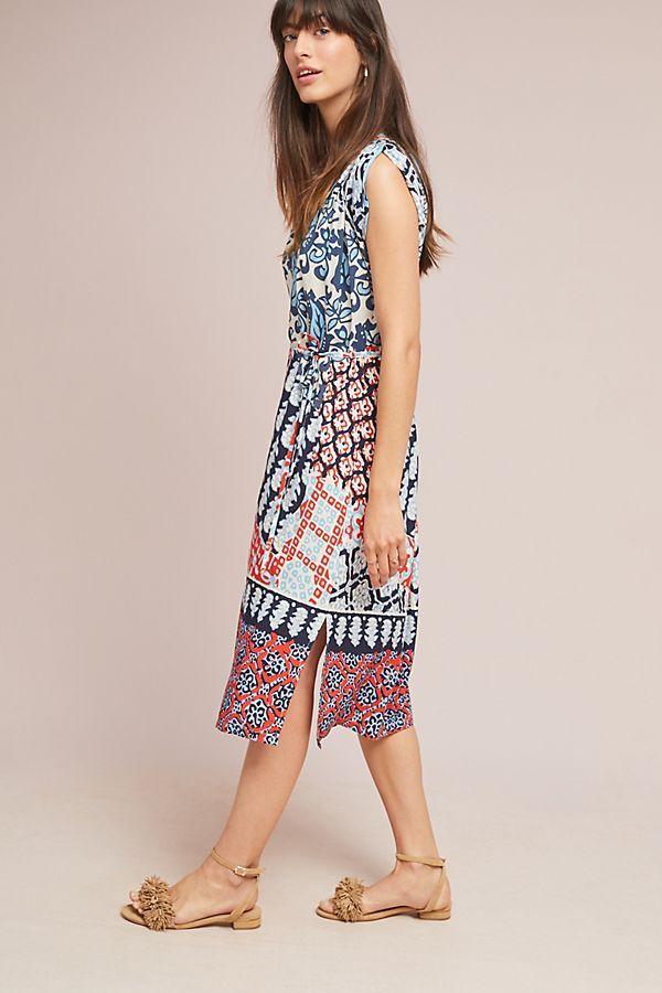 27e807467a9d Patchwork Midi Dress   Clothes inspiration   Dresses, Patchwork ...