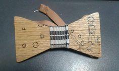 Πυρογραφία σε ξύλο. Παπιγιόν ο μικρός Πρίγκιπας Pyrography bow tie The Little Prince