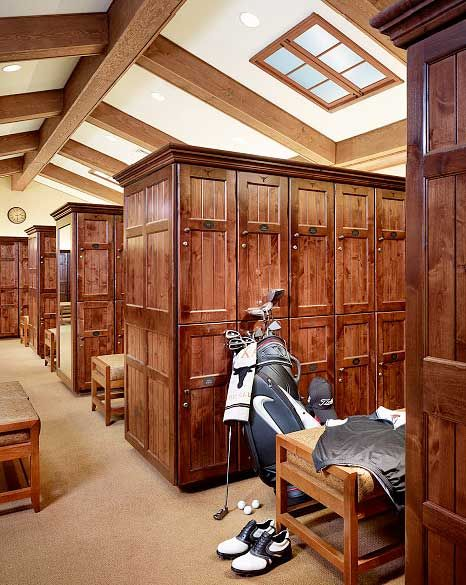 Arizona Country Club Mens Locker Room