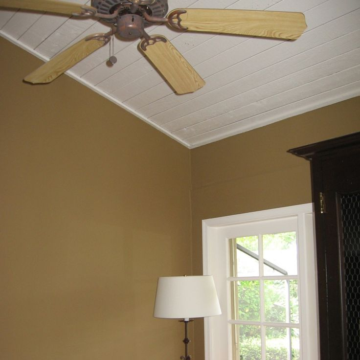 Livingroom wall ideas pinterest room colors living for How to paint a cathedral ceiling room