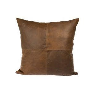 Large Leather Cushion