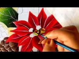 Resultado de imagen para pinterest pintura en tela navideña