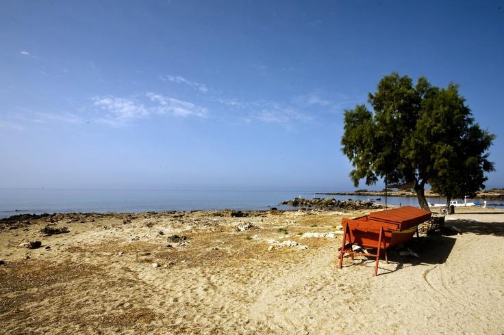 The enchanting island of Chrissi in #Ierapetra. A tropical paradise in South-East Crete...  | Νήσος Χρυσή (ή Γαϊδουρονήσι) στην Ιεράπετρα    Photo : Σετάκης Γρηγόρης (  CC-BY- ND )