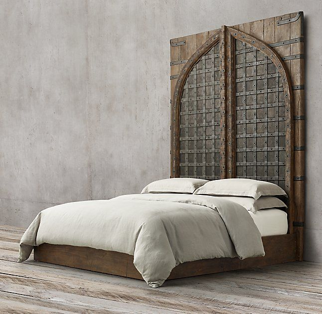 565 best images about decor headboards unique diy on for Different headboards for beds