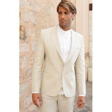 www.d-blanco.es trajes de lino novio ibicenco #shoponline #dblancomodaibiza