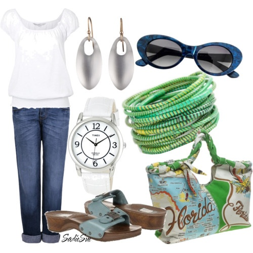 Great vacation outfit: Clothes Style, Summer Outfit, Fashion Styles, Color, Florida, Casual Styles, Vacation Outfits, Style Pinboard