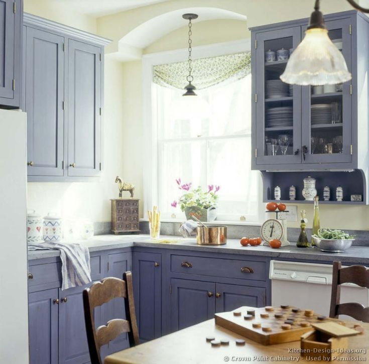151 Best Images About Blue Kitchens On Pinterest | Modern Kitchen