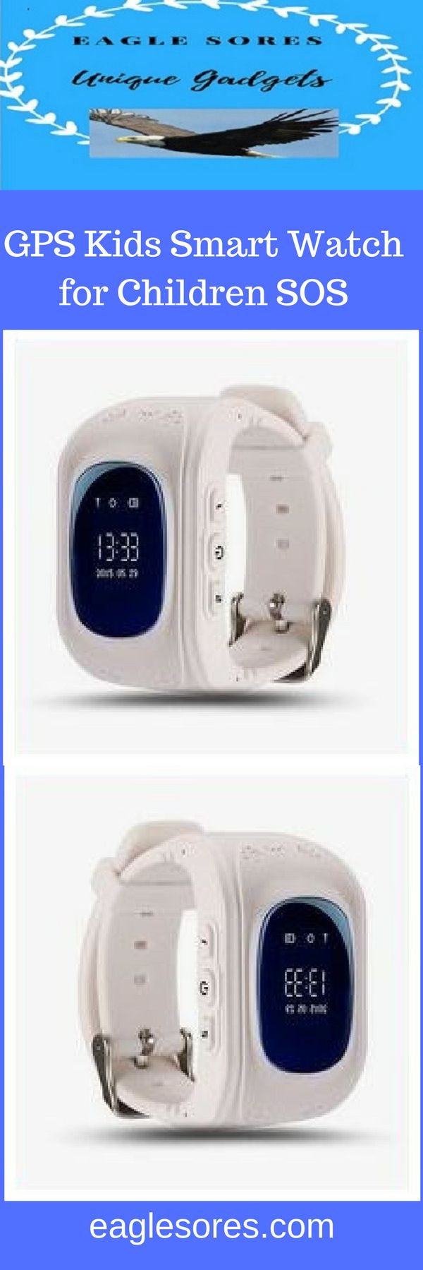 GPS Kids Watches Baby Smart Watch for Children SOS, Call Location Finder, Locator Tracker, Anti Lost Monitor, Smartwatch Band Detachable  The best smart watch on the market!  http://amzn.to/2vzndjv
