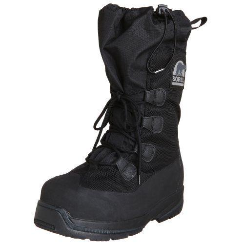 Sorel Men's Intrepid Explorer 100 Snow Boot,Black,9 M US - http://authenticboots.com/sorel-mens-intrepid-explorer-100-snow-bootblack9-m-us/