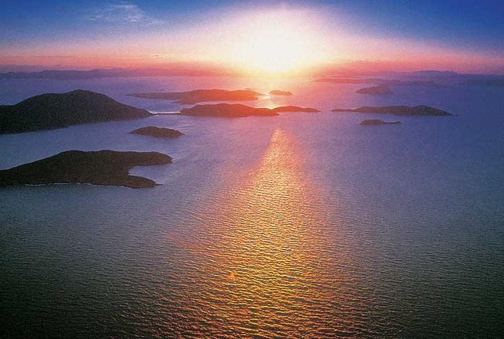 Queensland ocean sunset
