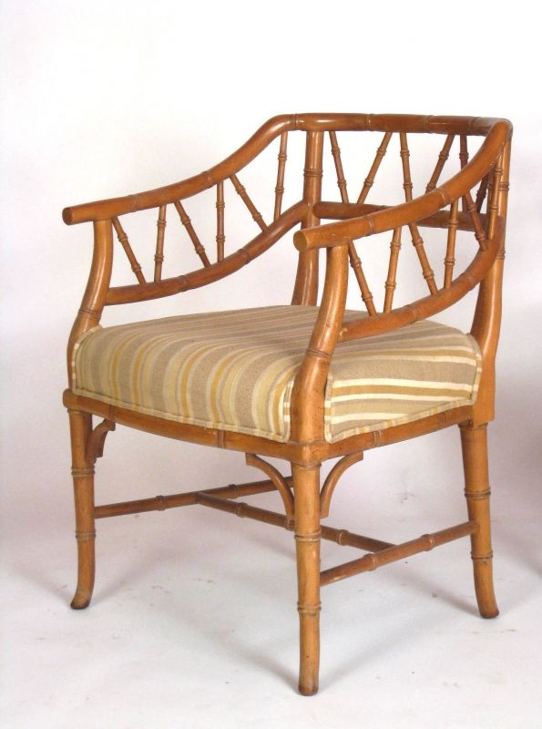 Vintage Bamboo Furniture | ... Of Bamboo Chairs: SULTANchic Vintage And Mid  Century