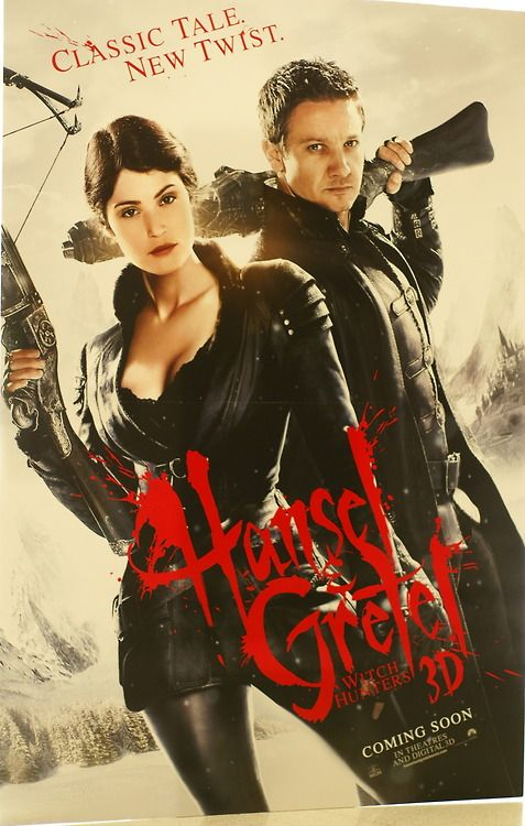 Hansel and Gretel! Hansel and Gretel! I cant wait to see this!